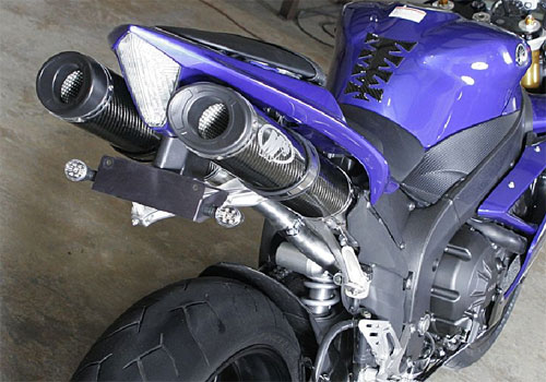 M4 Standard Slip-On Exhaust for YZF-R1 07-08