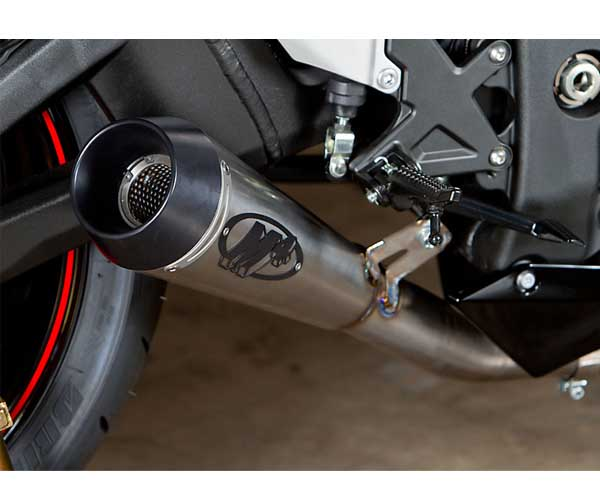 M4 GP Series Slip-On Exhaust for ZX10R 11-15