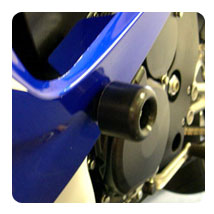 Shogun Std. Cut Frame Sliders for GSX-R750 08-10