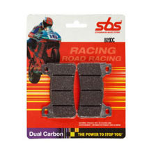 SBS Racing Dual Carbon Front Brake Pads for YZF-R6 03-12