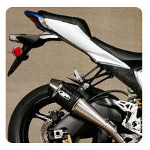 M4 Standard Slip-On Exhaust w/ Dual Supersport Mufflers for GSX-R1000 09-11