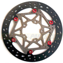 Brake Tech Axis Oversized 310mm Iron Full Floating (Front) Brake Rotors for ZX6R/RR 05-12