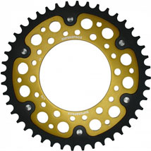 Supersprox Stealth Gold 530 Rear Sprocket for FZ1 06-12