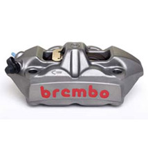 Brembo HPK M4 100 mm Cast Monoblock Caliper Kit for 950 SuperMoto 05-08
