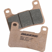 Braking CM55 Compound Front Brake Pads for ZX636B ZX6R 03-06