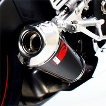 Scorpion Red Power Series Exhaust for YZF 600 R6 06-09