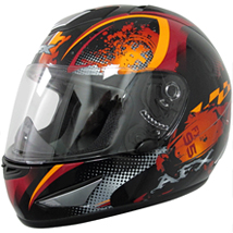 AFX FX-95 Stunt Helmet Orange (Closeout)