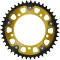 Supersprox Stealth Gold 520 Rear Sprocket for XR650L 93-10