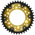 Supersprox Stealth Gold 520 Rear Sprocket for Monster 696 08-12