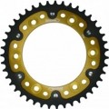 Supersprox Stealth Gold 530 Rear Sprocket for CBR1000RR 06-13