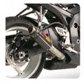 Hotbodies Racing MGP Growler Slip-On Muffler for GSXR600/750 08-12