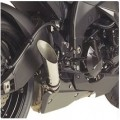 Hotbodies Racing Slash-Cut Megaphone Slip-On Exhaust for ZX6R 09-12