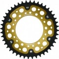 Supersprox Stealth Gold 530 Rear Sprocket for Carrozzeria Wheels