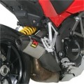 Akrapovic Slip-On Street Legal Exhaust for Multistrada 1200/S/Touring 10-13