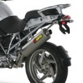Akrapovic Racing Full Exhaust (Oval) for R1200GS/Adventure 04-09 (Closeout)