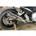 M4 Standard Slip-On Exhaust for GSX650F 09-11