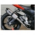M4 Standard/Race Full Exhaust System w/ All Stainless Steel Tubing for GSXR 1000 07-08