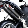 Scorpion Red Power Series Exhaust for Tiger 1050 07-09