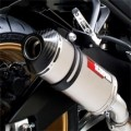 Scorpion Red Power Series Exhaust for FZ8 10-11