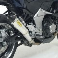 Arrow Pro Racing Homologated Silencer for Stock Collectors for Z1000 07-09