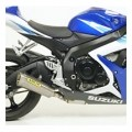Arrow Street Thunder Homologated Silencer for GSXR600/750 06-07