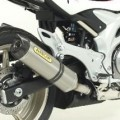 Arrow Street Thunder Silencer w/ Carbon Cap for Stock Collectors for Gladius 650 09-11