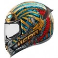 Icon Airframe Pro Pharaoh Helmet Blue/Gold