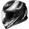 Shoei RF-1200 Mystify TC-5 Helmet Black/Silver/White