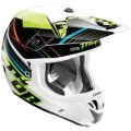 Thor Verge Stack Helmet Flo-Green (Closeout)