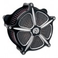 Roland Sands Design Venturi Air Cleaner Speed 5, Contrast Cut for FLSTN/I 05-12