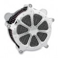 Roland Sands Design Venturi Air Cleaner Speed 7, Chrome for FXS 11-12