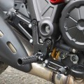 Woodcraft Complete Rearset Kit for 1198 Diavel 09-16