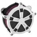 Roland Sands Design Venturi Air Cleaner Turbo, Chrome for FXDWG/I 05-12