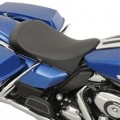 Drag Specialties Low-Profile Solo Seat for FLHX 08-14
