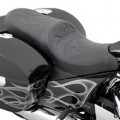 Drag Specialties Low Profile Touring Seat (Full Stitch) for Crossroads 10-13