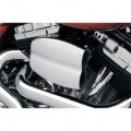 Cycle Visions Mo-Flow Billet Air Cleaner Chrome for FLTR 08-12