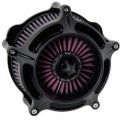 Roland Sands Design Turbine Air Cleaner Black Ops for FXSTD/I 01-07