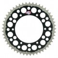 Renthal TwinRing Rear Drive Sprocket (Black) for 125/144/150/200/250/300/350/360/380/400/450/520/525/530 SX 91-13