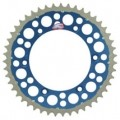 Renthal TwinRing Rear Drive Sprocket (Blue) for WR250F 01-13