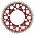 Renthal TwinRing Rear Sprocket (Red) for XR650R 00-07