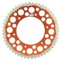 Renthal TwinRing Rear Drive Sprocket (Orange) for 125/144/200/250/300/380/400/450/520/525 MXC 91-13