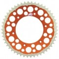 Renthal TwinRing Rear Sprocket (Orange) for KTM 450-530 EXC-R 98-14