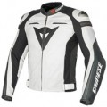 Dainese Super Speed C2 Leather Jacket White/White/Antracite