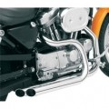 Bassani Pro-Street System (Slash-Cut, Chrome) w/ Forward Control for XL 86-03