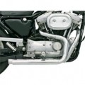 Bassani Pro-Street System (Straight-Cut, Chrome) w/ Mid Control for XL 86-03