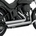 Vance & Hines Big Shots Staggered Full Exhaust for FLST 86-11