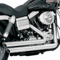 Vance & Hines Big Shots Staggered Full Exhaust for Dyna 06-11