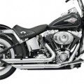 Bassani Firepower Series Exhaust (FireFlight, Chrome) for FXS 86-13