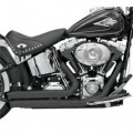 Bassani Firepower Series Exhaust (FireSweep, Black) for FXS 86-13
