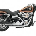 Bassani Firepower Series Exhaust (FireFlight, Chrome) for FXDWG 06-13